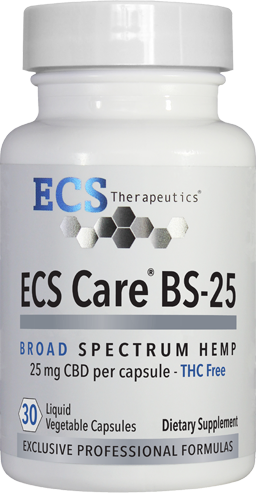ECS Care® BS-25mg (30 Liquid Vegetable Caps)